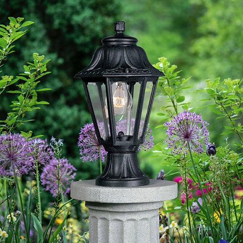 Traditional Black Lantern Lamp Post Top