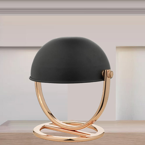 Copper & Black Table Lamp
