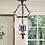 Thumbnail: Bronze 3-Light Ceiling Lantern