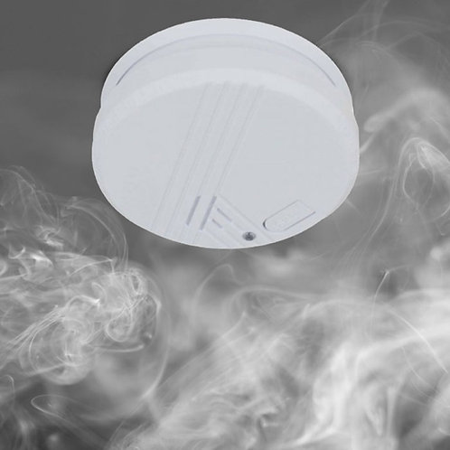 Smoke Alarm with Photoelectric Battery Power