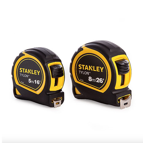 Stanley Twin Pack Measuring Tapes 5m and 8m