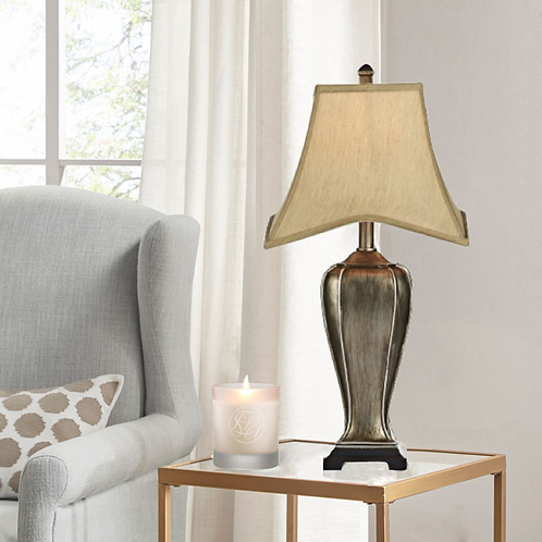 Elegant Silver Gold Table Lamp