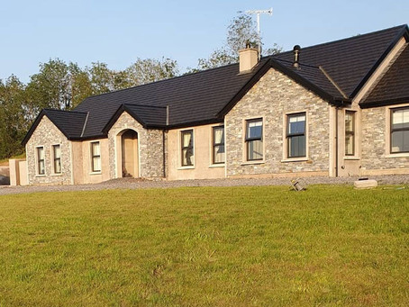 Inspirational New Build Bungalow in County Tyrone revealed with Lighting by Castle Lighting Omagh