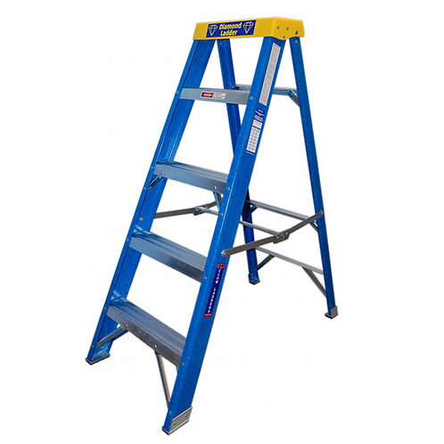 Clow Insulated Glass Fibre Step Ladders (Various Treads)