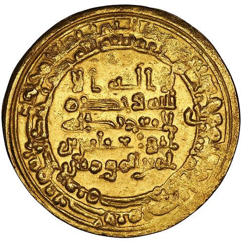 Abbasid, Al-Muqtadir Billah, dinar, Misr, AH 302