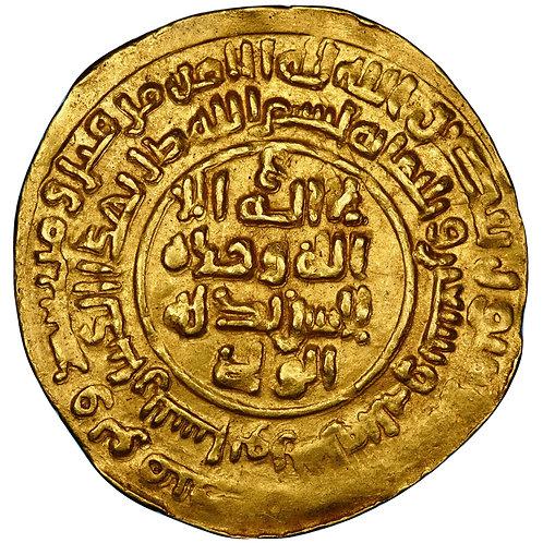 Samanid, Nuh III, dinar, Naysabur, AH 373