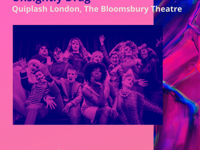 Sarah's Chronicles #6 - [Unsightly Drag]Quiplash London, The Bloomsbury Theatre