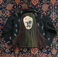 Widow Jacket Back