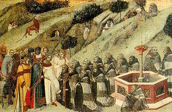 St. Albert at the Fountain of Elijah
