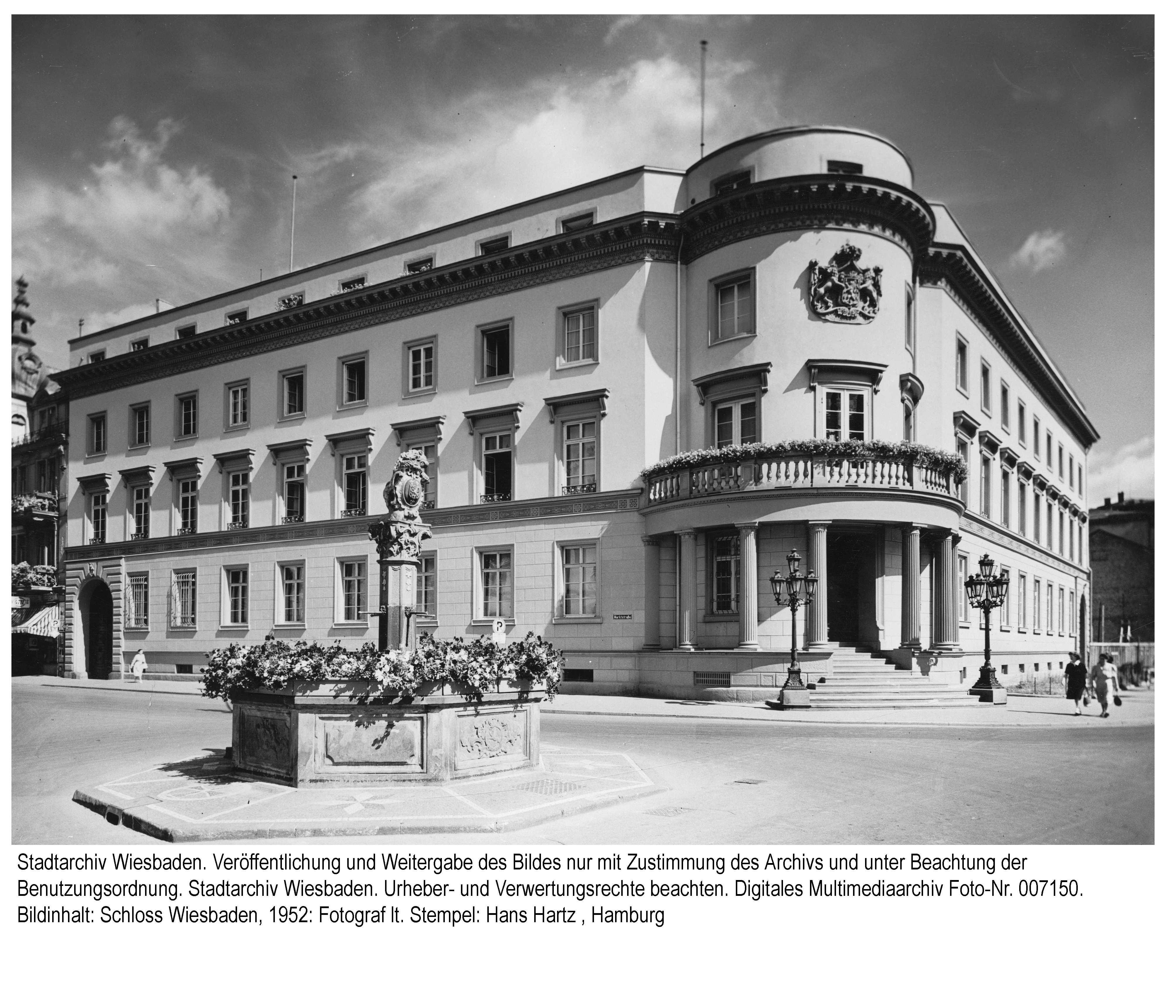 Stadtschloss 1952