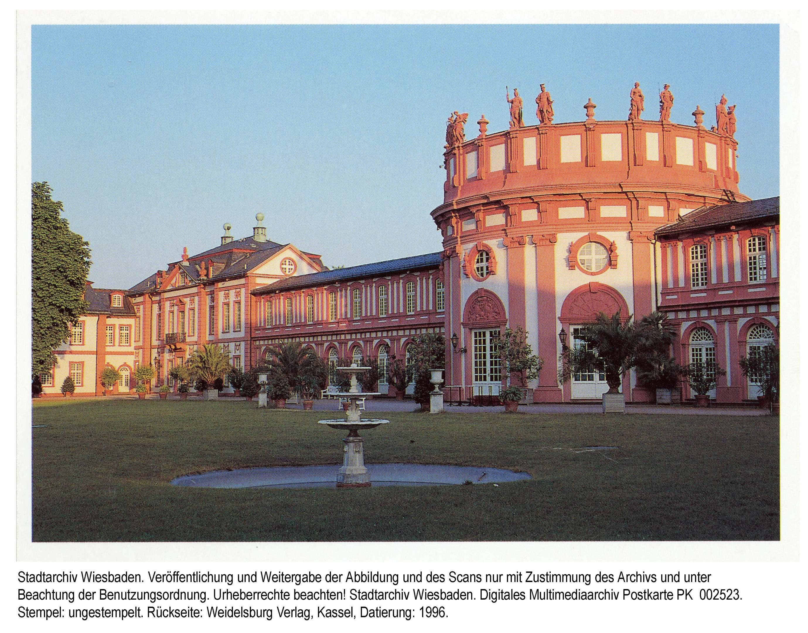 Biebricher Schloss 1996