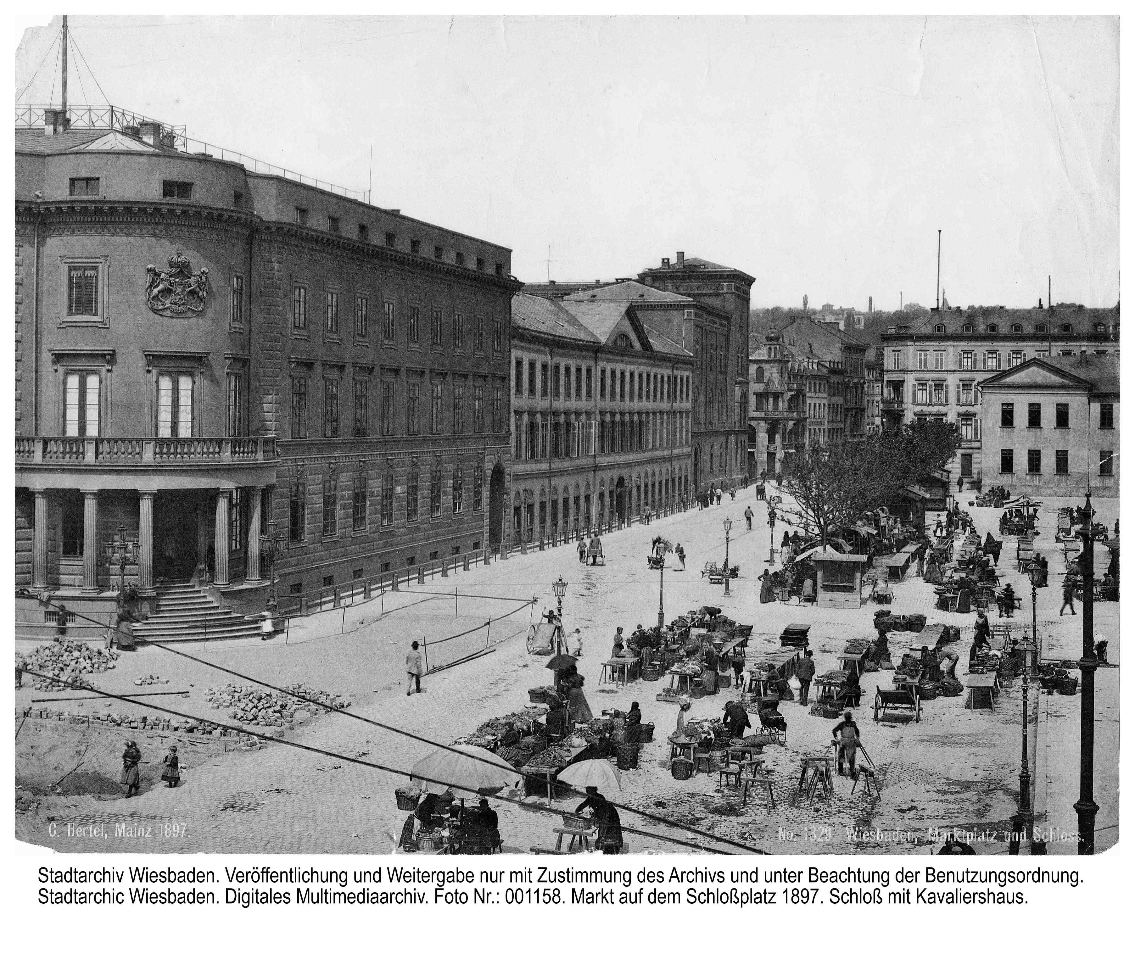 Stadtschloss 1897