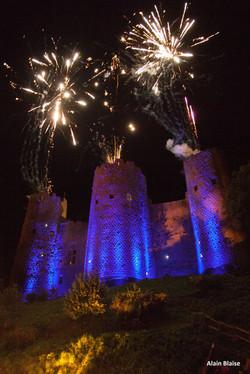 Mise en lumière du château