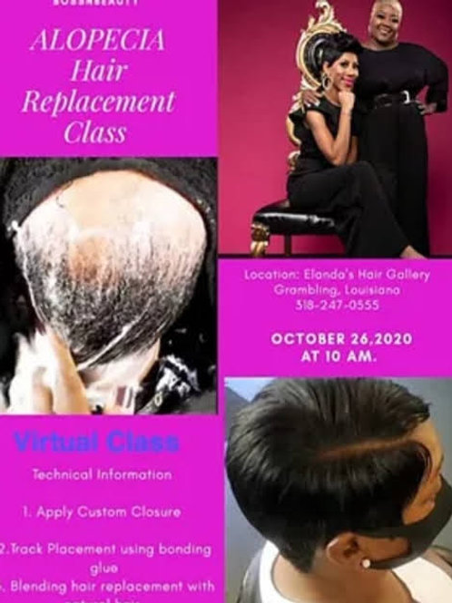 Alopecia Hair Replacement Class
