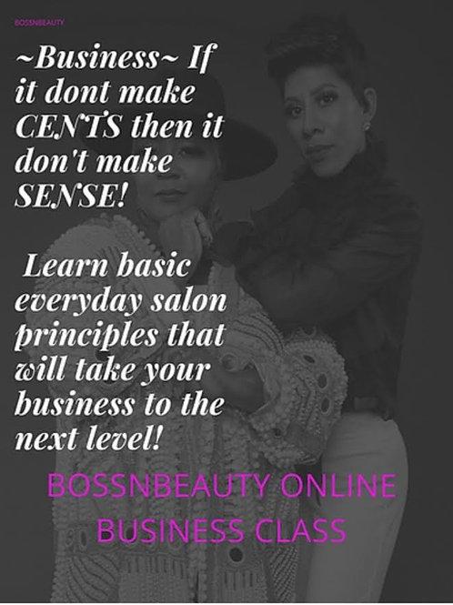 BossNBeauty Online Business Class