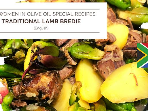 Traditional lamb bredie using EVOO