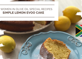Simple Lemon EVOO Cake