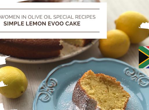Simple Lemon EVOO Cake