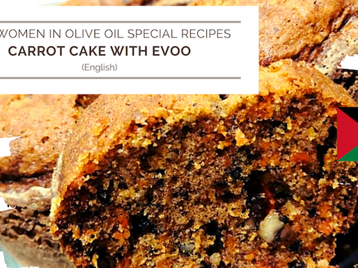 Carrot cake with EVOO
