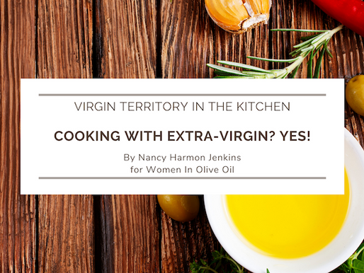 Cooking with Extra-Virgin? Yes!