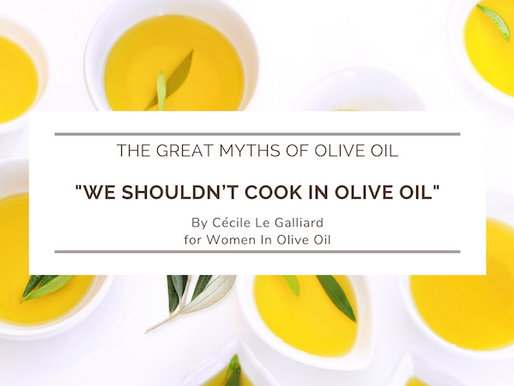 The great myths of olive oil: We shouldn't cook in olive oil
