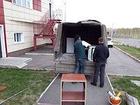Погрузка мебели в газель