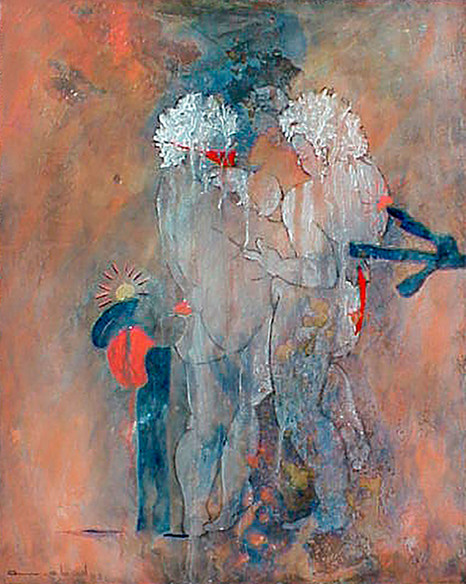 TWO LOVERS 2003 (PRIVATE COLLECTION)