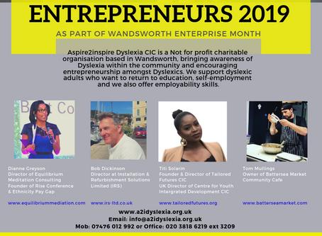 Successful Dyslexic Entrepreneurs 2019