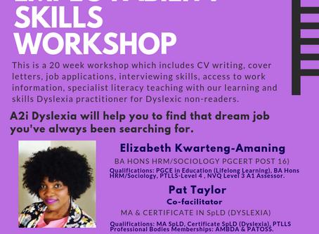 Our New FREE Employability Skills Workshop!