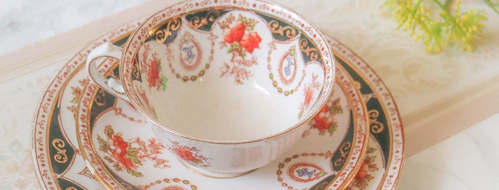 Melba Decorated Trio Tea Set