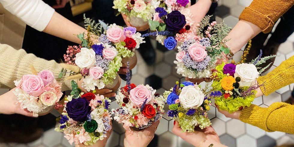 A Floral Home Delivery & Arrangement Workshop