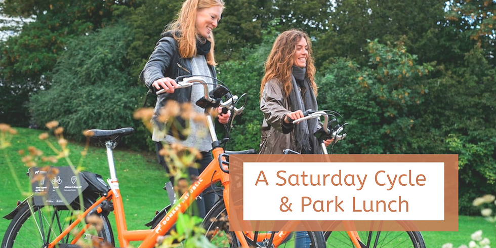A Saturday Cycle & Park Lunch