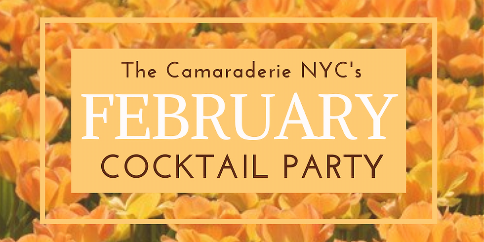 The Camaraderie NYC's February Cocktail Party