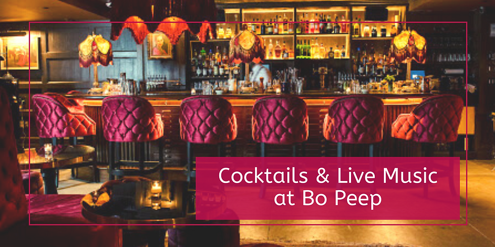Cocktails & Live Music at Bo Peep