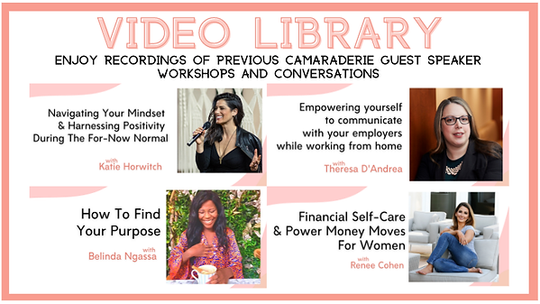 virtual video library women empowerment education workshops