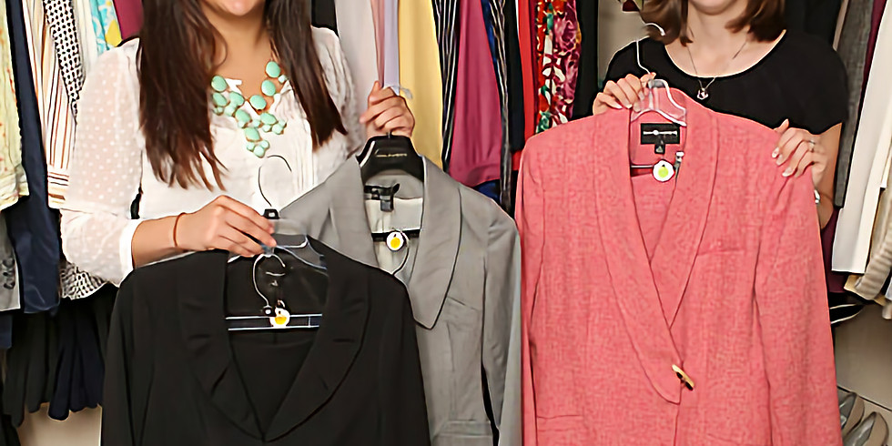 Members - Volunteer Session in The Boutique at Bottomless Closet