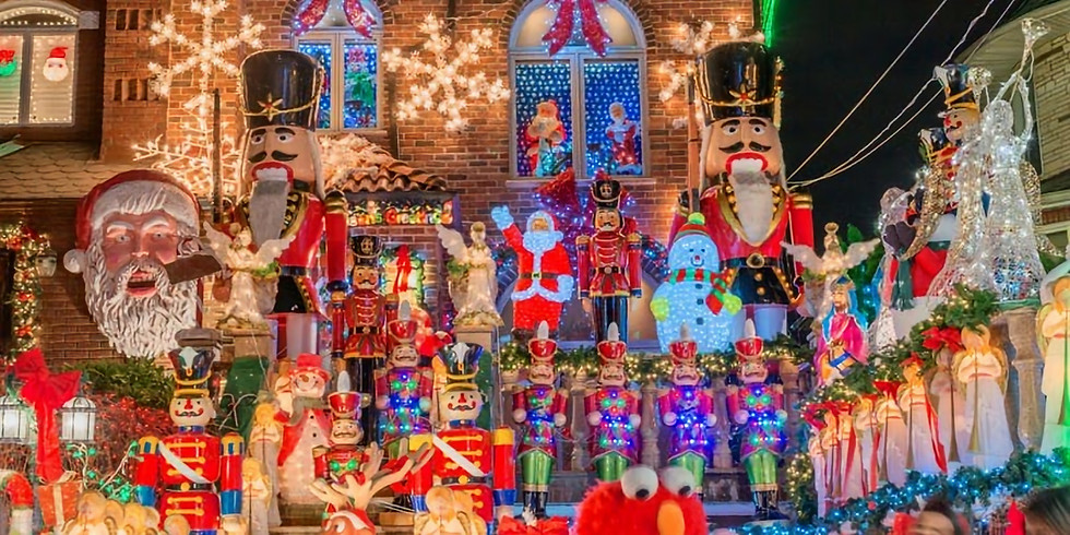 Members - Holiday Lights in Dyker Heights!