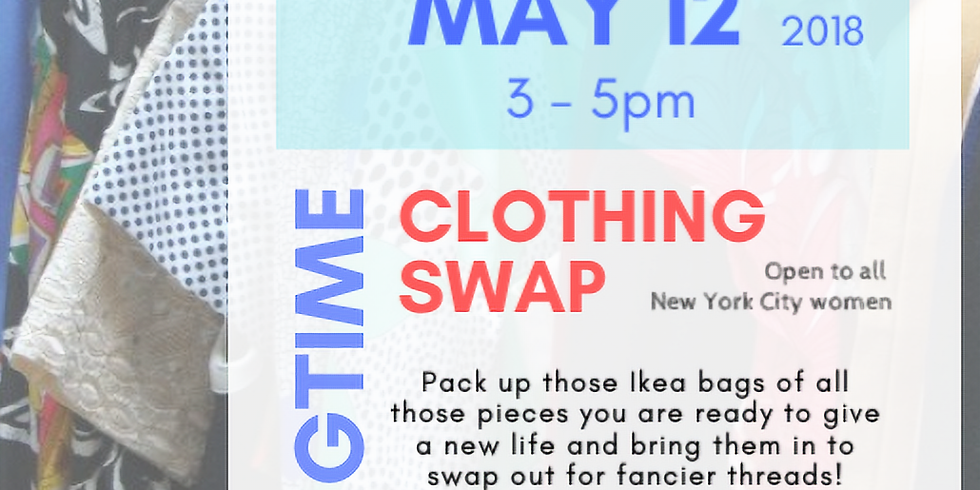 Members - The 2nd Annual Camaraderie Clothing Swap!