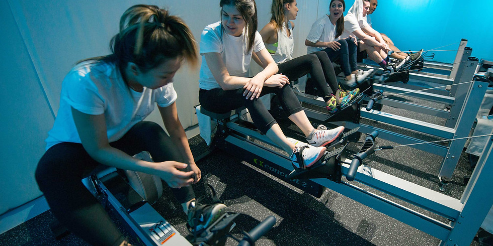 Members - Indoor Rowing Workout at Current