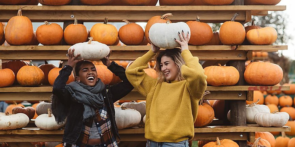 Fall Day in Woodstock & Haunted Drive Thru