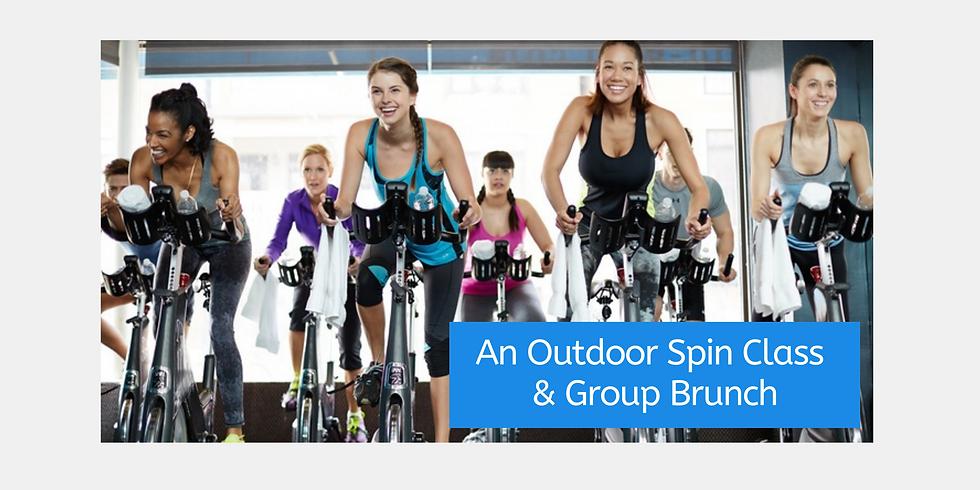 An Outdoor Spin Class & Group Brunch