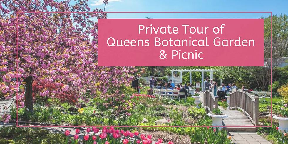 Private Tour of Queens Botanical Garden & Picnic
