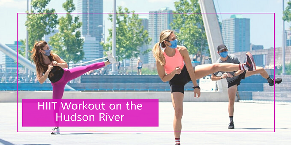 HIIT Workout on the Hudson River