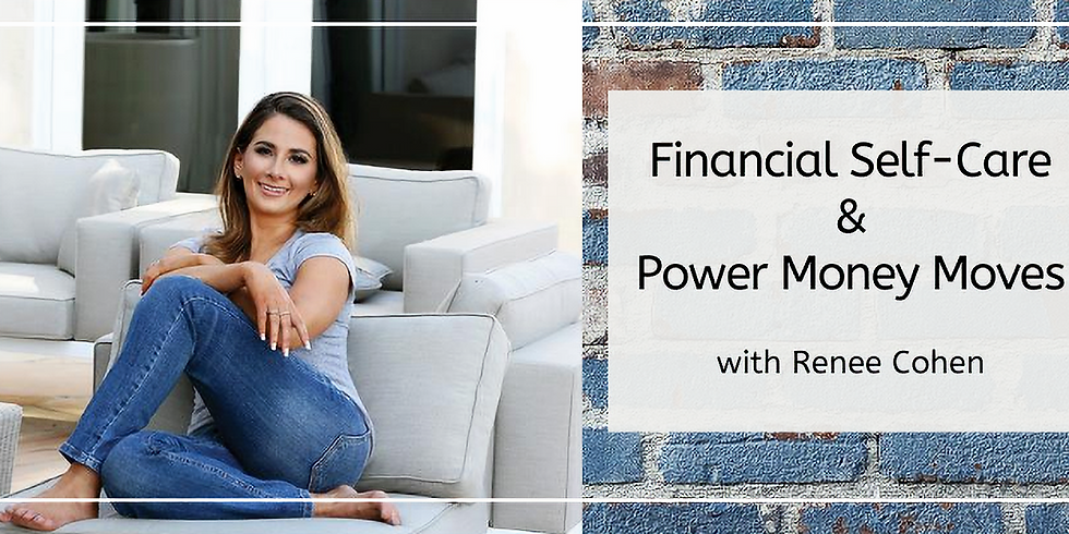 Remote Conversation Club: Financial Self-Care with Renee Cohen