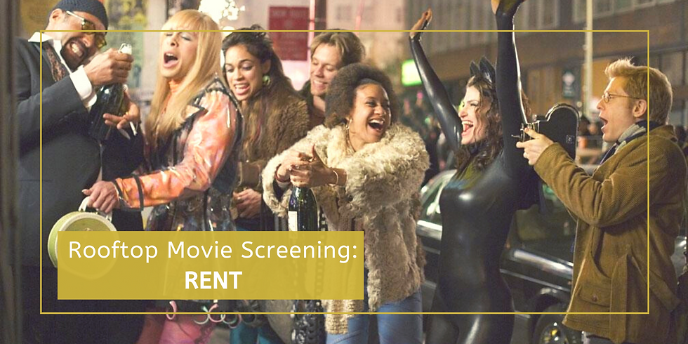 Rooftop Movie Screening: RENT