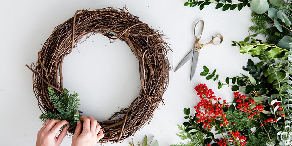 Members - A 'Relax & Craft' Evening + Mini Wreaths