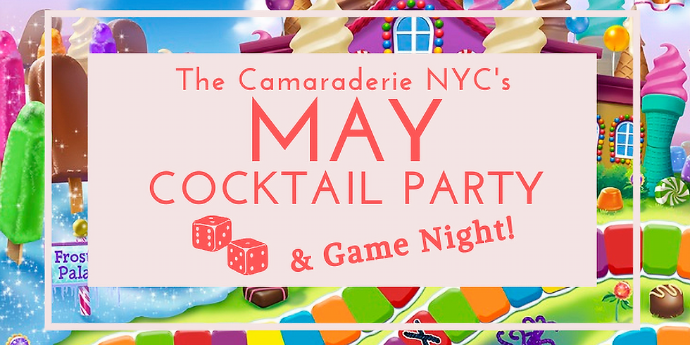 The Camaraderie NYC's May Cocktail Party