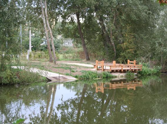 Poste PMR et rampe de mise à l'eau des barques Ceintrey