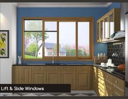 Lift & Slide Windows