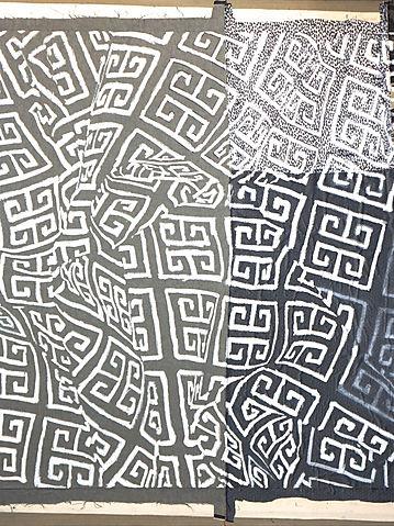 Mena Moskopf, ink on paper